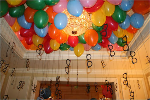 Wedding ballons decoration