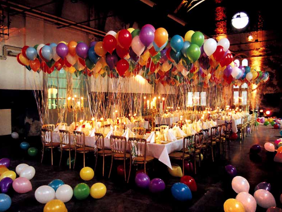 Balloon Wedding Decoration