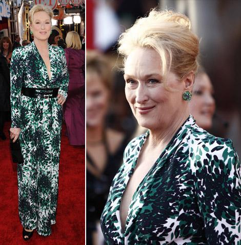 Meryl Streep dresses